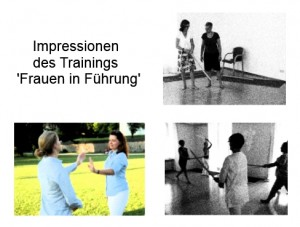 'Frauen in Fuehrung'-Training Fraueninsel, Chiemsee